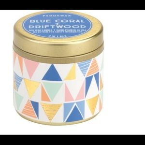 Paddywax Blue Coral&Driftwood candle *new*